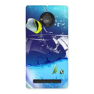 Stylish Cute Tub Fish Back Case Cover for Yu Yunique