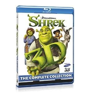 518aDXOQwQL. SL500 AA300  [Amazon] Panasonic DMP BDT111EG 3D Blu ray Player + KOSTENLOS Shrek 3D Blu ray Gesamtedition für nur 134,32€