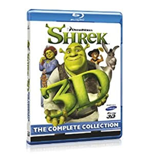 Shrek - The Complete Collection [Blu-ray 3D]