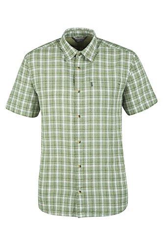 Mountain Warehouse Camicia in cotone da uomo Holiday Verde M