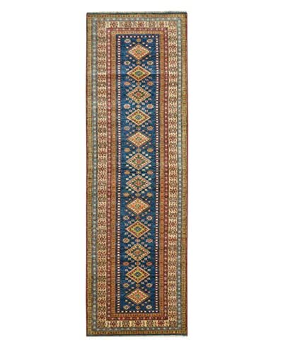 Kalaty One-of-a-Kind Kazak Rug, Blue, 2' 8 x 9' 5 Runner
