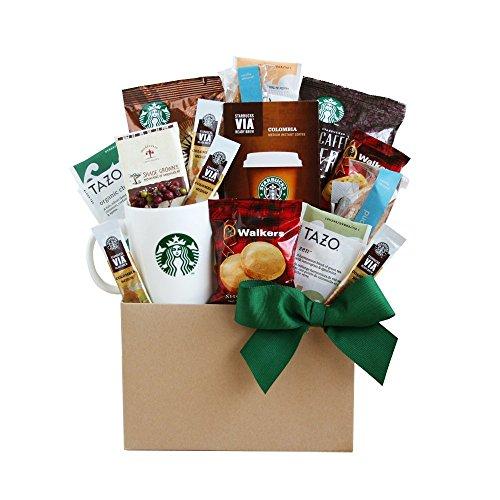 Coffee and Tea Lovers! Starbucks Gourmet Fall Thanksgiving Gift Basket