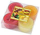 ヤンキーキャンドル 4種類の香りが楽しめるティーライトアソート 燃焼時間約4~6時間 YANKEECANDLE  フルーツ  アメリカ製