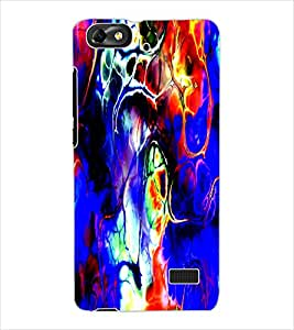 ColourCraft Abstract Image Design Back Case Cover for HUAWEI HONOR 4C