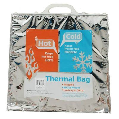 1 X Reusable Thermal Insulated Bag(hot /Cold)no Ice Needed