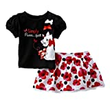Disney The Aristocats Infant Girl's Top & Skirt - Marie
