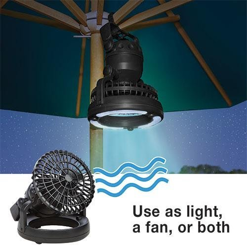 Vas 18 Led 2N1 Camping N Tent Fan Light - Be Cool Even Without A Breeze