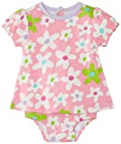 Hatley – Baby Baby-Girls Infant Dress One Piece Fresh Flowers, Pink, 18-24 Months