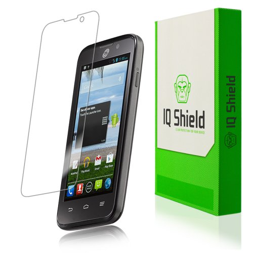 Iq Shield Liquidskin - Zte Majesty Screen Protector - High Definition (Hd) Ultra Clear Phone Smart Film - Premium Protective Screen Guard - Extremely Smooth / Self-Healing / Bubble-Free Shield - Kit Comes With Retail Packaging And 100% Lifetime Replacemen
