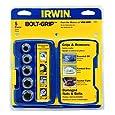 Irwin Industrial Tools 394001 Bolt-Grip Bolt Extractor Base Set, 5-Piece