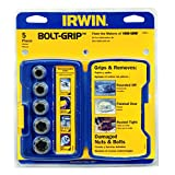 Irwin  Bolt Grip Remover 5PC Base set  394001by IRWIN