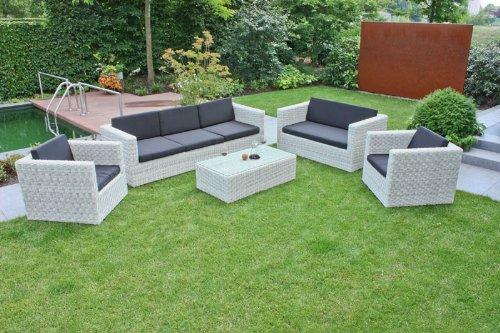 Lounge Gruppe 5tlg. Sofa Gartenmöbel Gartentisch Gartenstuhl Loungemöbel Lounge günstig
