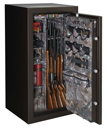 Stack On W 35 Bh E S 35 Gun Woodland Safe Fire Resistant Realtree Extra Camo Interior Home Secur