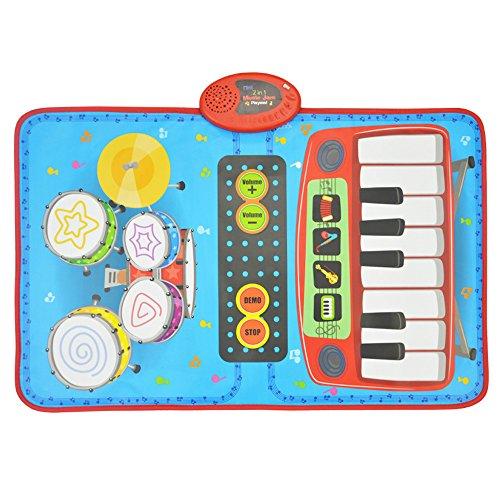 sainsmart-jr-2-in-1-foldable-music-mat-functional-jam-drumpiano-playmat-recordable-musical-instrumen