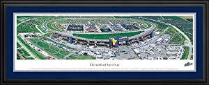 NASCAR Tracks - Chicagoland Speedway Aerial - Framed Poster Print by Laminated Visuals