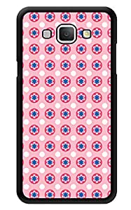 """Humor Gang Cute Simple Flower Pattern Printed Designer Mobile Back Cover For """"Samsung Galaxy A8"""" (3D, Glossy, Premium Quality Snap On Case)"""