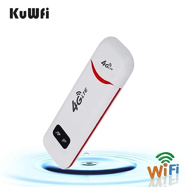 KuWFi 4G LTE Mobile WiFi Hotspot Travel Router Partner Wireless ...