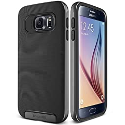Galaxy S6 Case, Verus [Crucial Bumper][Steel Silver] - [Drop Protection][Low Profile][Slim Fit] For Samsung Galaxy S6