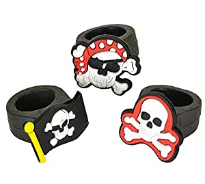 Rubber Pirate Ring Party Accessory (1 ct)