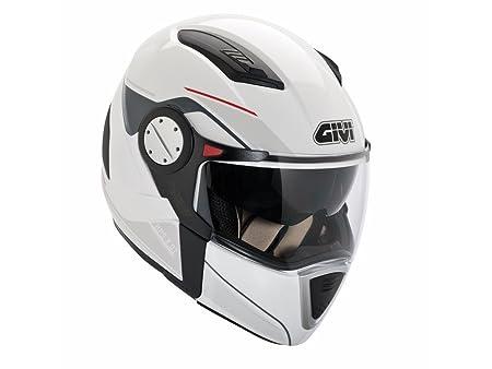 Givi - Casque moto Givi X01 COMFORT GRAPHIC - Taille: XL - Couleur: Blanc