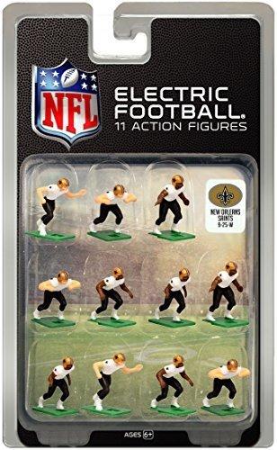 New Orleans Saints?White Uniform NFL Action Figure Set by Tudor Games
