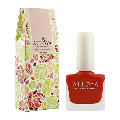 Alloya Natural Non Toxic Nail Polish, Water Based,018 Two of Hearts (Aroma Nail Polish compare prices)