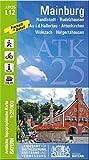 ATK25 L12 Mainburg: 1:25 000 (ATK25 Amtliche Topographische Karte 1:25000 Bayern)