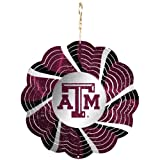 Texas A&M Geo Spinner Christmas Ornament