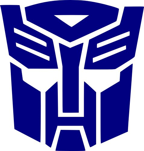 ALUMINUM LICENSE PLATE Transformers Autobots many colors//reflective colors
