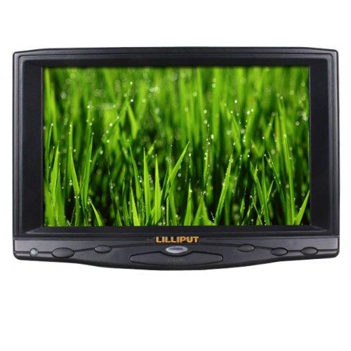"""Lilliput 7"""" 619A 1080P On-Camera Field Monitor Vga/Av/Hdmi/Dvi Input"""