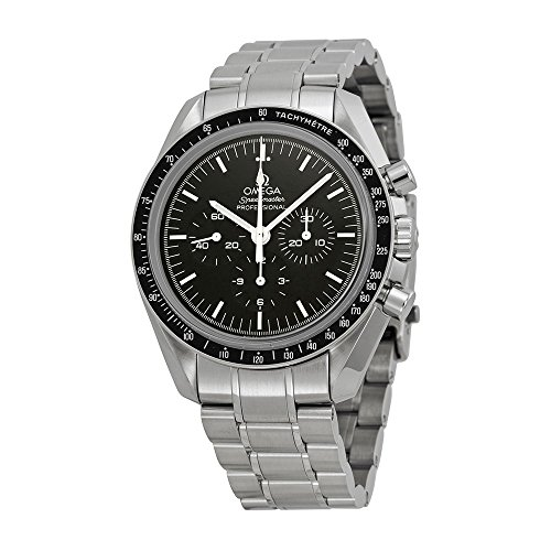 Omega Men's 31130423001006 Speedmaster Analog Display Mechanical Hand Wind Silver Watch (Omega Skeleton compare prices)