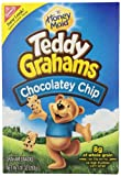 Teddy Grahams Snacks, Chocolate Chip, 10-Ounce Boxes (Pack of 6)