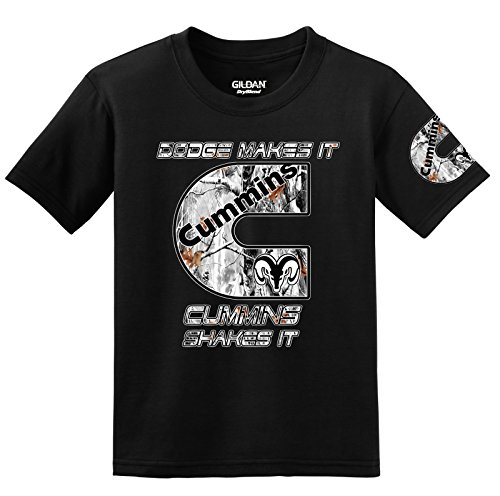 cummins-dodge-makes-it-cummins-shakespeare-it-snow-camo-logo-with-sleeve-camiseta-negro-m