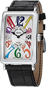 Franck Muller Long Island Color Dreams Stainless Steel Quartz Watch 1002 QZ COL DRM SS
