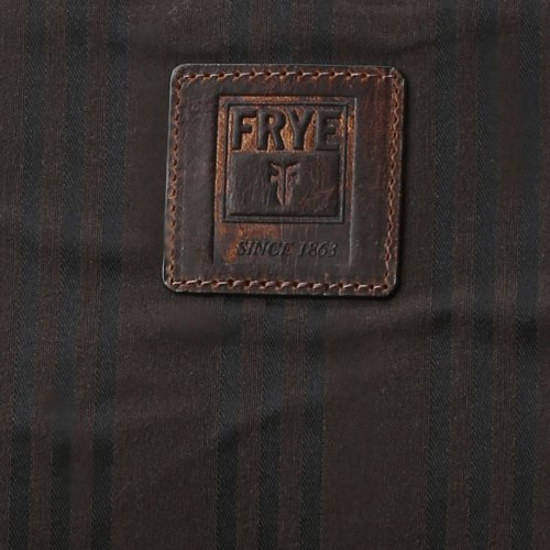 Frye Logan Flap Briefcase,Cognac,One Size