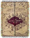 The Northwest Company Warner Bros Harry Potter Marauders Map Tapestry Throw, 48 by 60-Inch