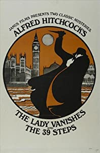 The Lady Vanishes Movie Poster (27 x 40 Inches - 69cm x 102cm) (1938) Style C -(Margaret Lockwood)(Paul Lukas)(Michael Redgrave)(May Whitty)(Googie Withers)(Basil Radford)