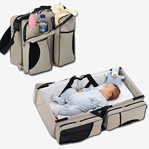 Baby-Travel-Bed-Crib-Bassinet-Bag-Diaper-Change-Station