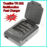 New Trustfire TR-003 4CH 14500 16340 18650 Battery Charger