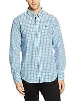 Timberland Camisa Hombre Ls Poplin Check Shir (Cielo)