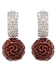 Akshim Multicolour Alloy Earrings For Women