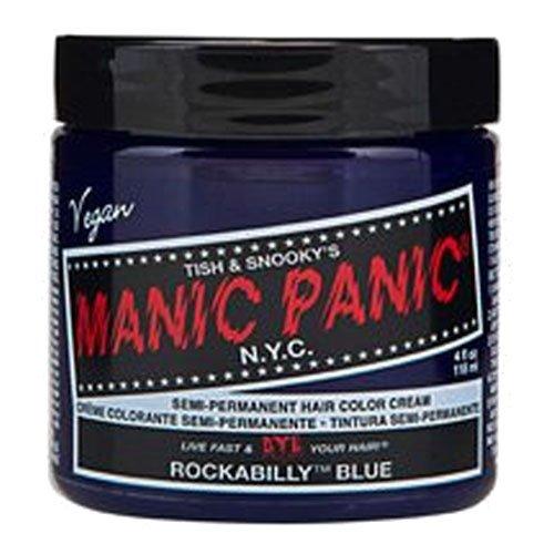 manic panic マニックパニック マニックパニックヘアカラー ロカビリーブルー MC11039 118ml