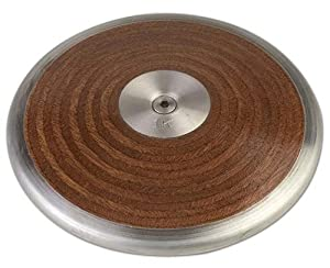 Buy Champion Sports 1.6 K Competition Wood Discus by Champion Sports