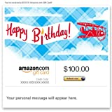 Amazon Gift Card - Email - Happy Birthday (Airplanes)