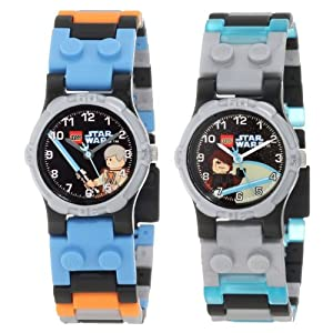 LEGO Kids' 9000454 Star Wars Anakin and Obi Wan 2-Pack Watch