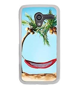 Beach Holidays 2D Hard Polycarbonate Designer Back Case Cover for Motorola Moto X :: Motorola Moto XT1052 XT1058 XT1053 XT1056 XT1060 XT1055