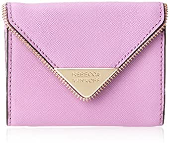 Rebecca Minkoff Molly Metro Keychain Wallet,Freesia,One Size