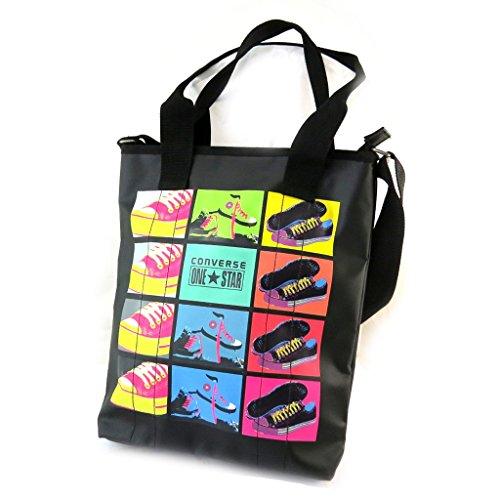 Borse di tipo cabas/shopping 'Converse' colori nero.