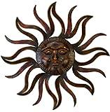 Benzara 97918 Metal Sun Wall Decor Feel Every Morning More Fresh
