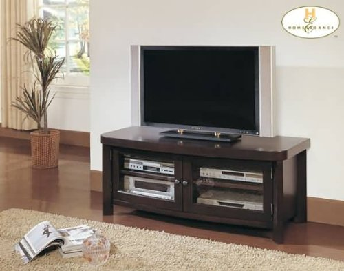 Cheap Brussel TV Stand in Espresso Finish (B004RSZTLQ)